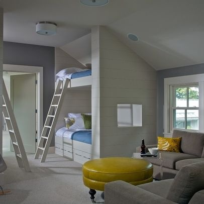 Built In Bonus Room Design, Pictures, Remodel, Decor And Ideas   Page 3