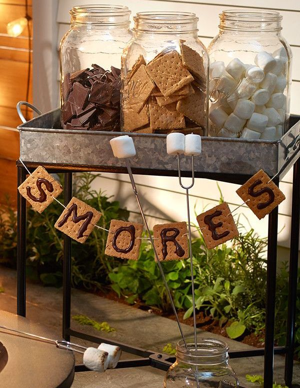 Grab some friends & build-your-own s'mores bar. Totally acceptable to snack along the way. http://tgt.biz/hawc