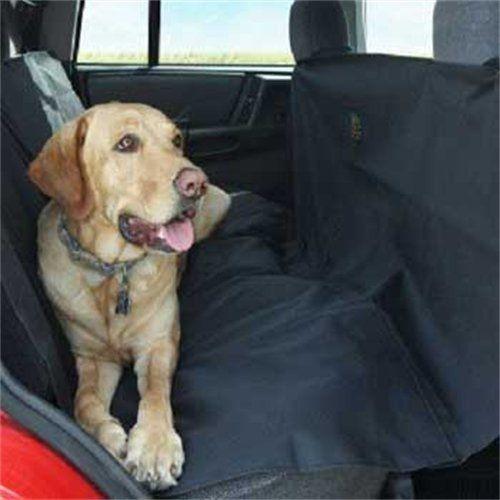 Amazon.com: Kyjen 2474 Dog Auto Travel Back Seat Pet Hammock Easy-Fit Seat Cover, Large, Black: Pet Supplies