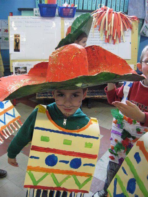 ecole maternelle mexique carnaval