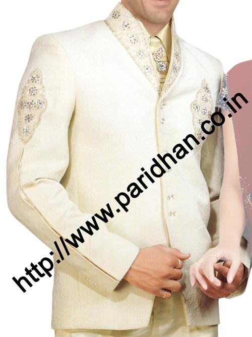 Indian Wedding Designer Tuxedo Suit
