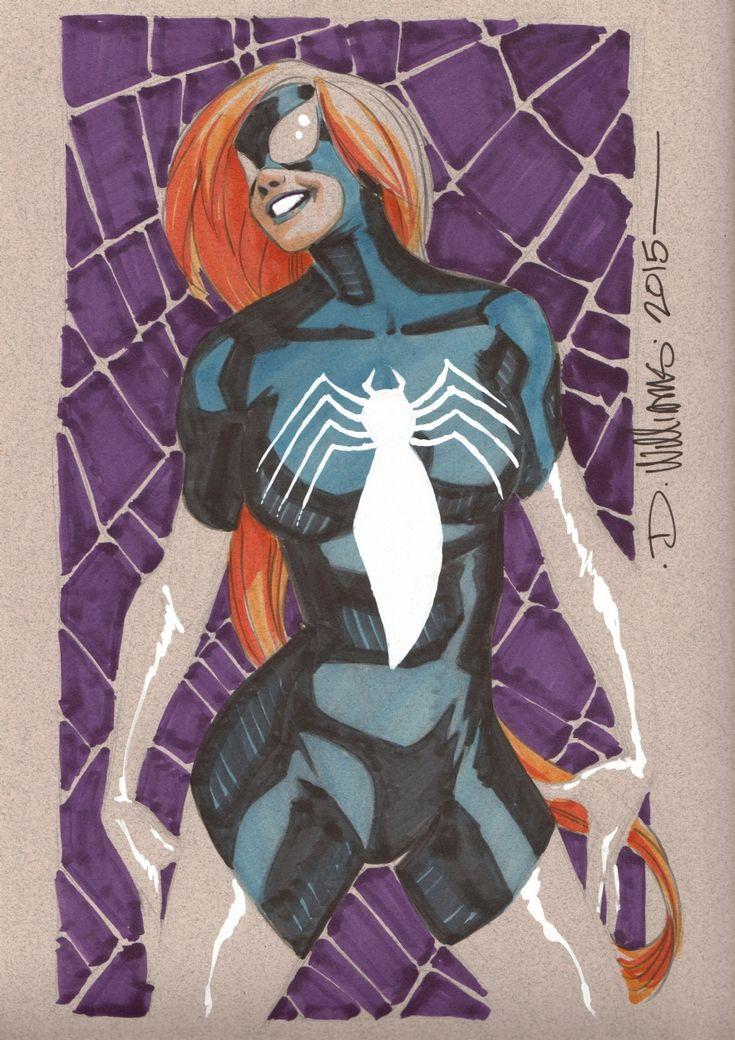 Spider-Woman (Julia Carpenter) : David Williams Comic Art