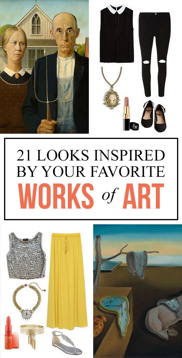 21 Outfits Inspired By Your Favorite Works Of Art