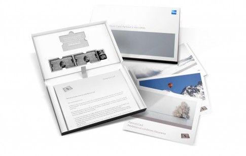 Creative Packaging | American Express Platinum Swiss Card Clamshell
