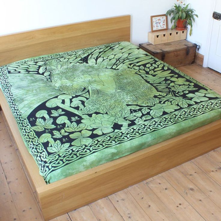 Green Fairie Throw For Beds, Sofas And Chairs