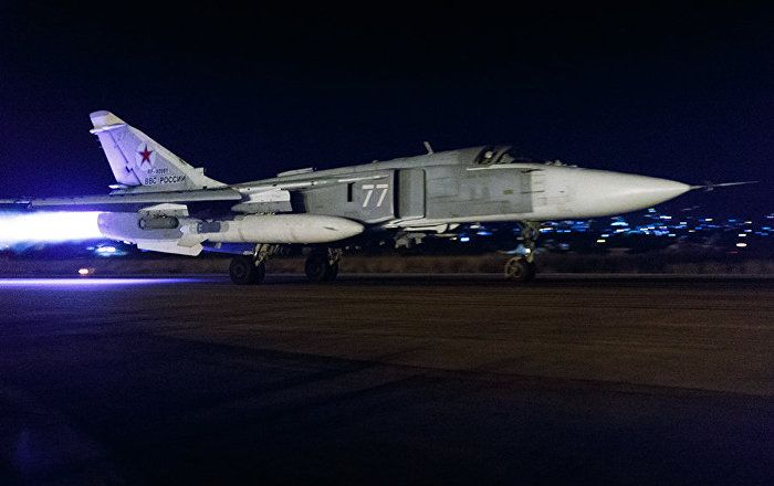 Russian Fighter Jets Hit 118 Terrorist Targets in Syria