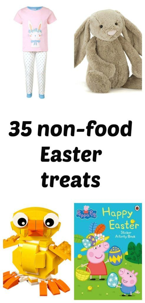 Choose one of these non-food Easter treats for a healthier, mroe mermorable and longer lasting Easter.