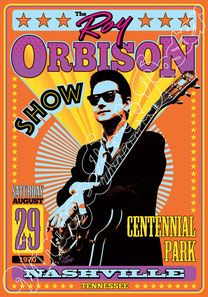 roy orbison, pretty woman, ray orbison poster