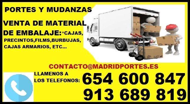 TRANSPORTES X HORAS##654##60O8(4)7 MADRID PORTES EN ALUCHE ##654##60O8(4)7 ECONOMICOS EN MADRID(ALUCHE) Y ALREDEDORES: MAJADAHONDA,SIMANCAS,LAS ROZAS DE MADRID, ASCAO, PINTO, MONCLOA,POZUELO DE ALARCON,ETC.  PARA PARTICULARES O EMPRESAS. *DESDE: 30EUR (URGENTES) PORTES EN ALUCHE. *FURGONES DE DIVERSOS TAMAÑOS CON CONDUCTOR POR HORAS(FURGON 12M3 + CHOFER:: 30EU LA HORA*MIN 2H DE CONTRATACION) EN ALCOBENDAS Y MIN 1H.EN TODA LA COMUNIDAD DE MADRID