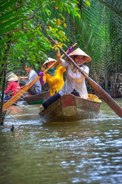 Mekong Delta, My Tho, Vietnam