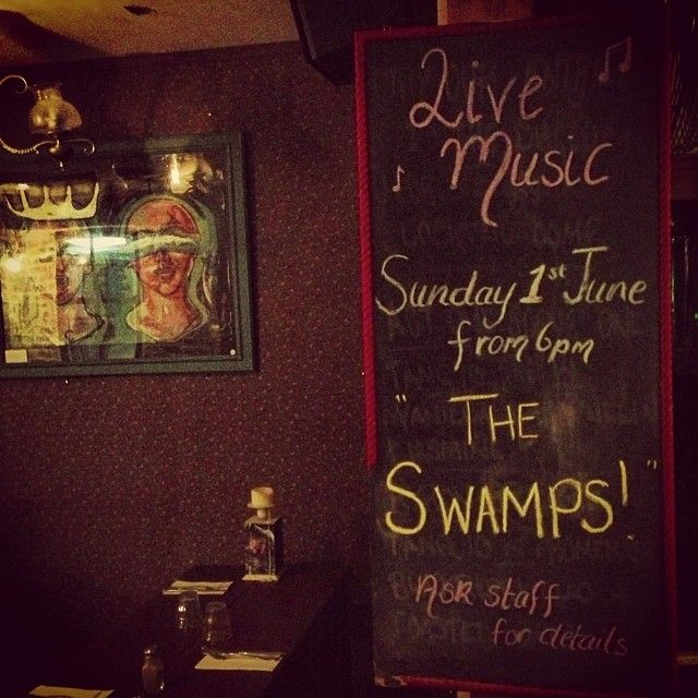 Live music at Black Coffee Lyrics.   Sunday 1st June  Amp up at 6pm   Live blues and roots from Byron based band The Swamps.   Beer and Blue...