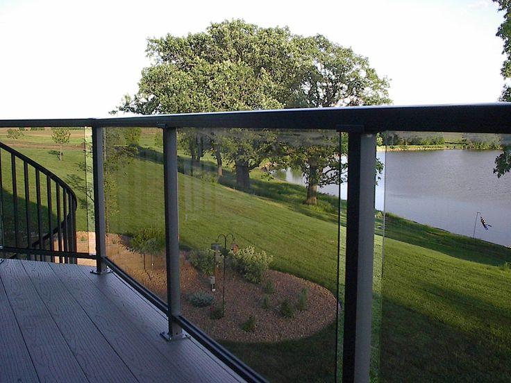 Glass Deck Railing Add A Little Sparkle