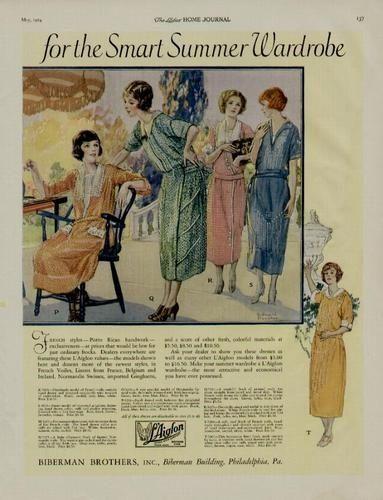 1920s summer fashion