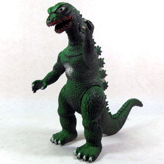 Vintage Godzilla Toy 1985 Imperial by LeftHandPath on Etsy, $19.00