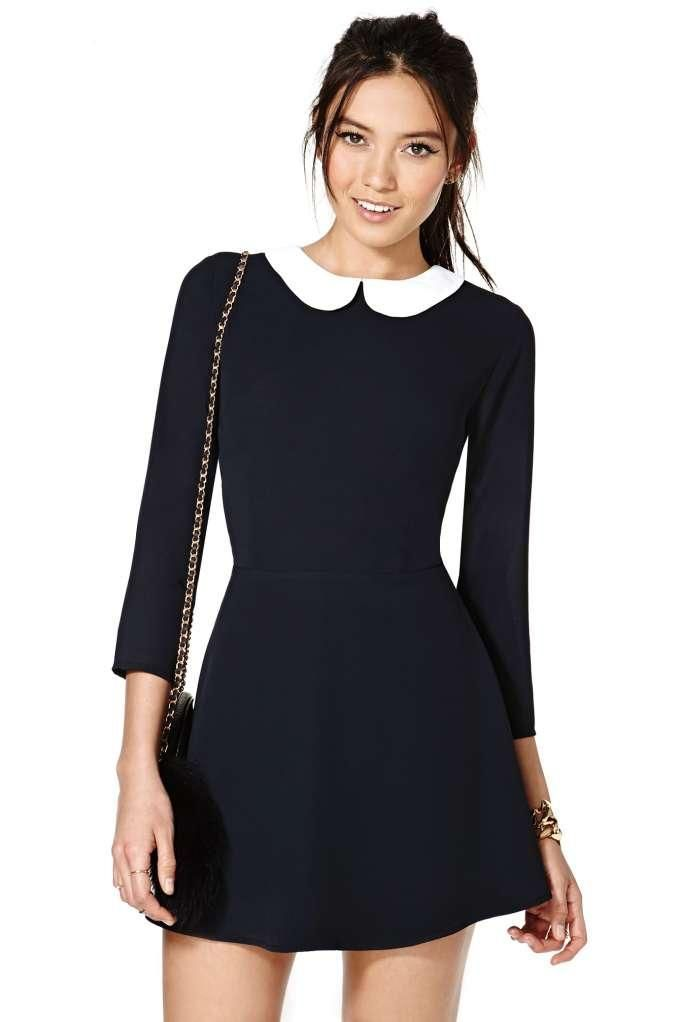 Collar Dresses To Make You Look Cute Yet Official | http://hercanvas.com/collar-dresses-to-make-you-look-cute-yet-official/