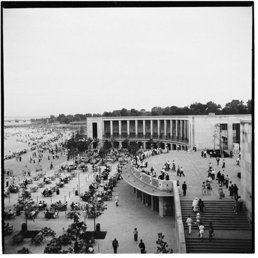 The Orchard Beach Pavilion in the Bronx, my old spot