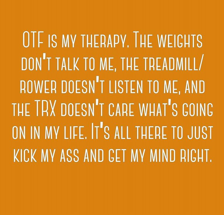 Orangetheory Fitness is my therapy!