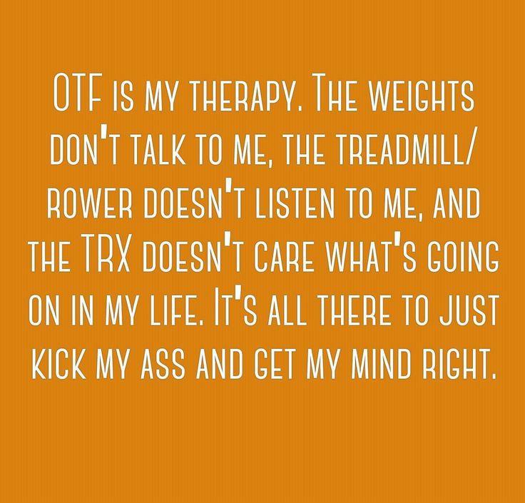 Orangetheory Fitness is my therapy!