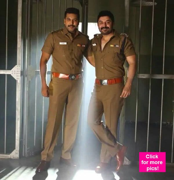 Bogan new stills: These new pics from the Jayam Ravi Arvind Swamy and Hansika Motwani starrer DONT match the first looks at all!