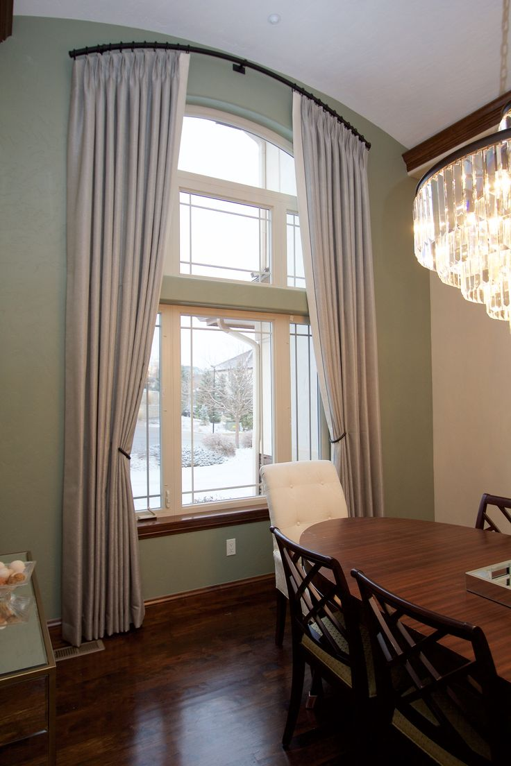 206 best arch window treatments images on pinterest. Black Bedroom Furniture Sets. Home Design Ideas