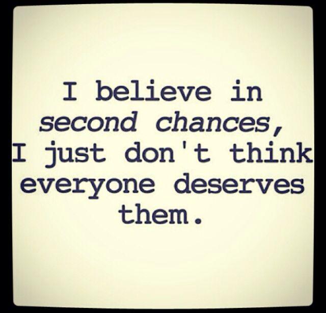 Segundas oportunidades quien se lo merezca !!