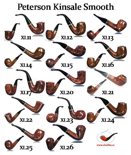Dýmky Peterson Kinsale Smooth Peterson Kinsale Smooth Pipes