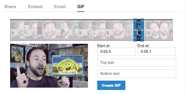 BREAKING: YouTube Now Has A GIF-Maker Tool!