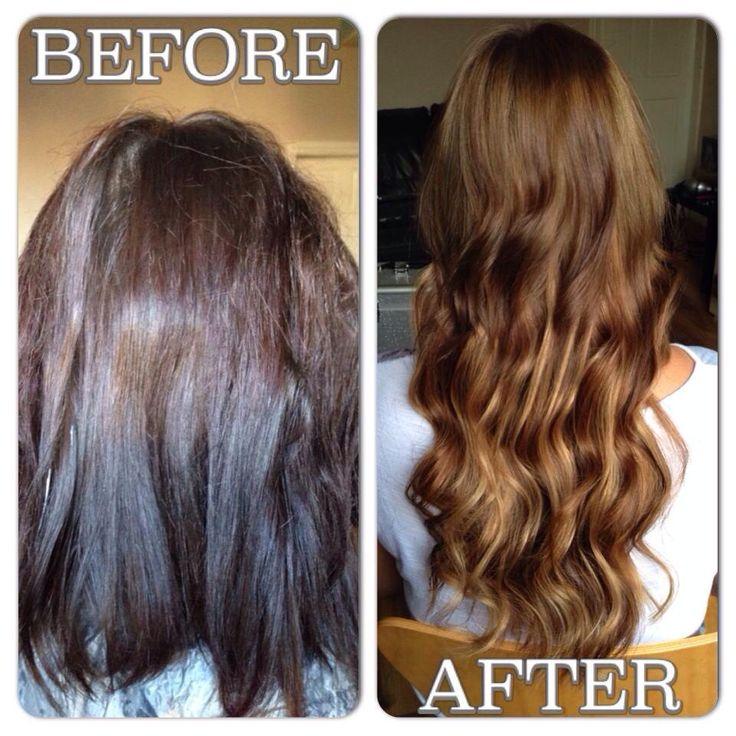 14 best extensions images on pinterest hair extensions before hair highlights hairextensions extensions microring microbead minilocks brown pmusecretfo Gallery