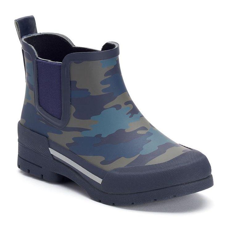 Western Chief Twin Gore Boys' Waterproof Rain Boots, Boy's, Size: 13, Med Blue