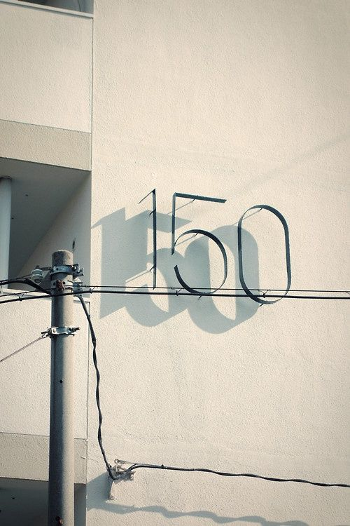 sign design | shadow on the wall | graphic |