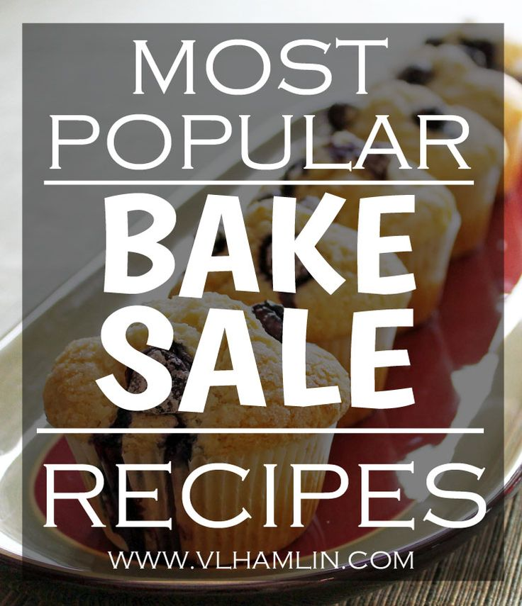 Looking for the most popular bake sale recipes? Check out this post with tons of recipes for all the best baked goods to ensure your sale is a huge success!