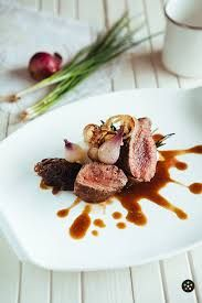 Image result for plated beef entrees