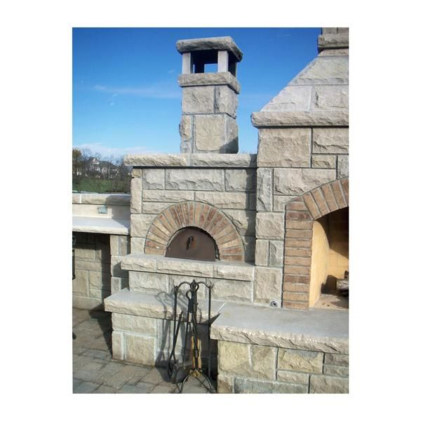 Roma Wood Fired outdoor stone Oven from Wildwood Ovens