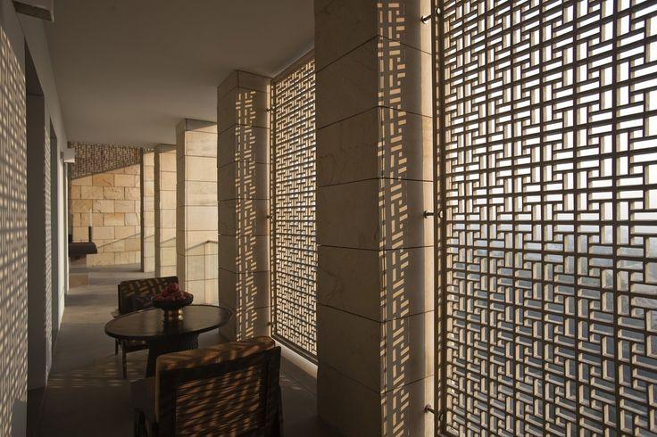 kerry hill architects / aman resort, new delhi