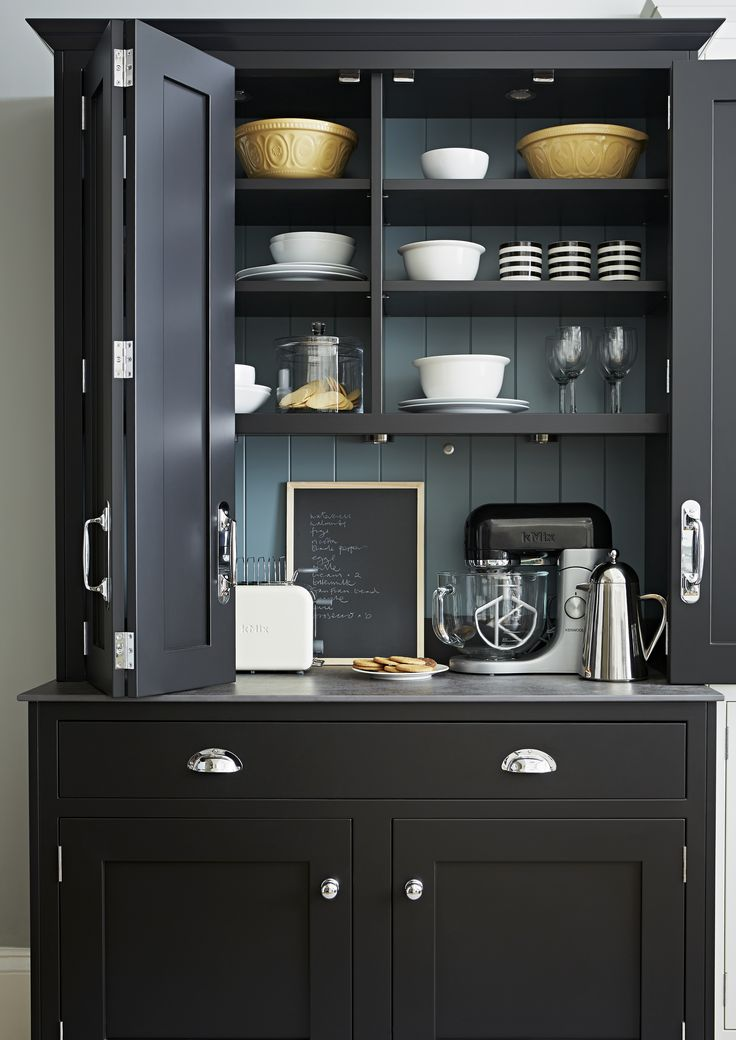 Stylish & practical large freestanding larder - Shaker dresser from John Lewis of Hungerford. http://www.john-lewis.co.uk/kitchens/classic-shaker-kitchen