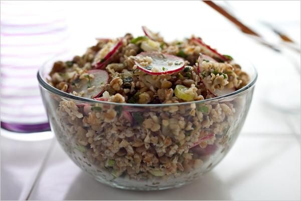 Bulgur and Lentil Salad | Vegetarian Thanksgiving Recipes - Well - NYTimes.comRecipe Boxes, Martha Rose, Beluga Lentils, Lentils Salad, Rose Shulman, Black Lentils, Thanksgiving Recipe, Salad Martha, Bulgur Salad