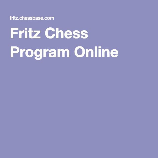 Fritz Chess Program Online