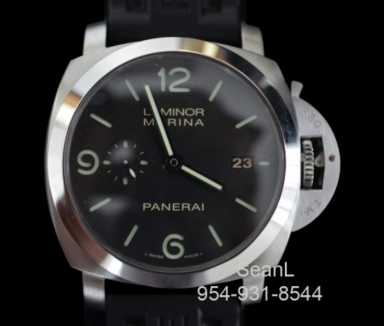 Panerai 312 Luminor Marina 1950 3 Day Automatic Stainless Steel  http://www.collectionoftime.com/specification.php?wid=201=16=12