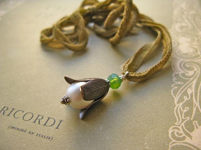 Fine van Brooklin, Belle Modeste necklace http://finevanbrooklin.com/
