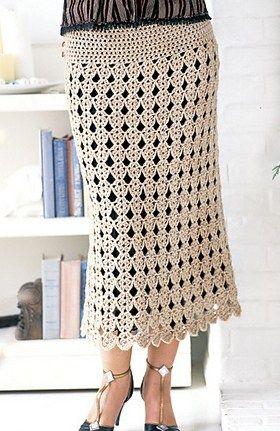 CROCHET SKIRT. — Crochet by Yana