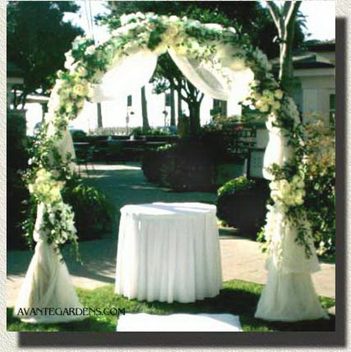 1000+ Ideas About Simple Wedding Arch On Pinterest