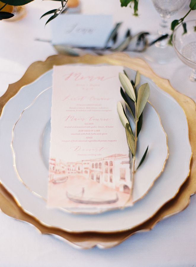 Linen: La Tavola Fine Linen Rental - http://latavolalinen.com Event Design: Atrendy Wedding - http://www.stylemepretty.com/portfolio/atrendy-wedding Invitations: Emily Rose Ink - http://www.stylemepretty.com/portfolio/emily-rose-ink   Read More on SMP: http://www.stylemepretty.com/2017/01/16/eloping-never-looked-so-pretty/