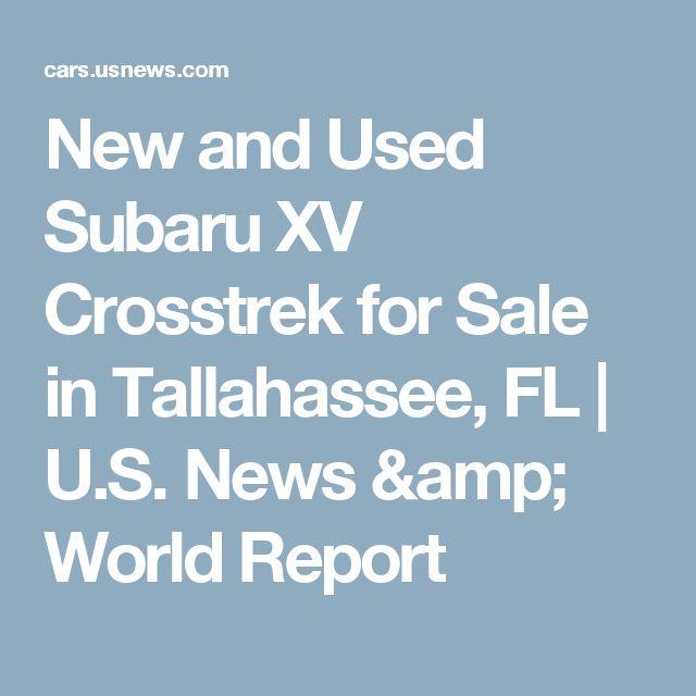 New and Used Subaru XV Crosstrek for Sale in Tallahassee, FL   U.S. News & World Report