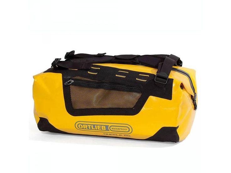 Ortlieb Duffle - waterdichte duffel rugzak - 60 liter - geel