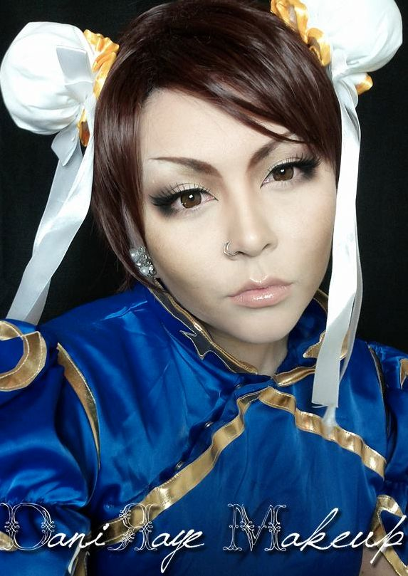 Chun Li Cosplay Makeup Tutorial!! -->https://www.youtube.com/watch?v=lydwfKjA_r0&index=17&list=UUQYOrC6LyJNQKJ3DIRPb10Q