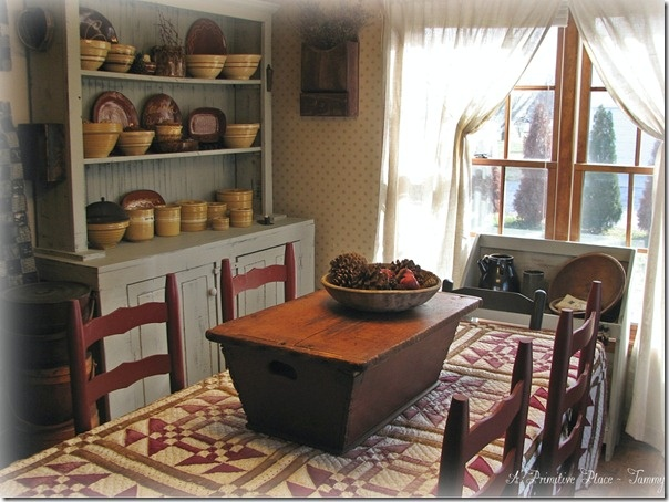A Primitive Place Tammy Dining Room Farmhouse