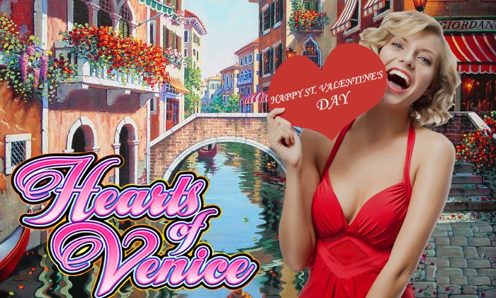 Make the present for your soul mate,by catching #FREE #SPINS at Hearts❤ of Venice slot by #WMS and #winning fabulous travel to the gorgeous Italian city✈ Venice. #Happy #Valentine's  #Day! The #sale lasts for 2 days! Hurry up!