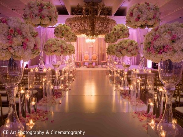 Stunning indian wedding ceremony decor
