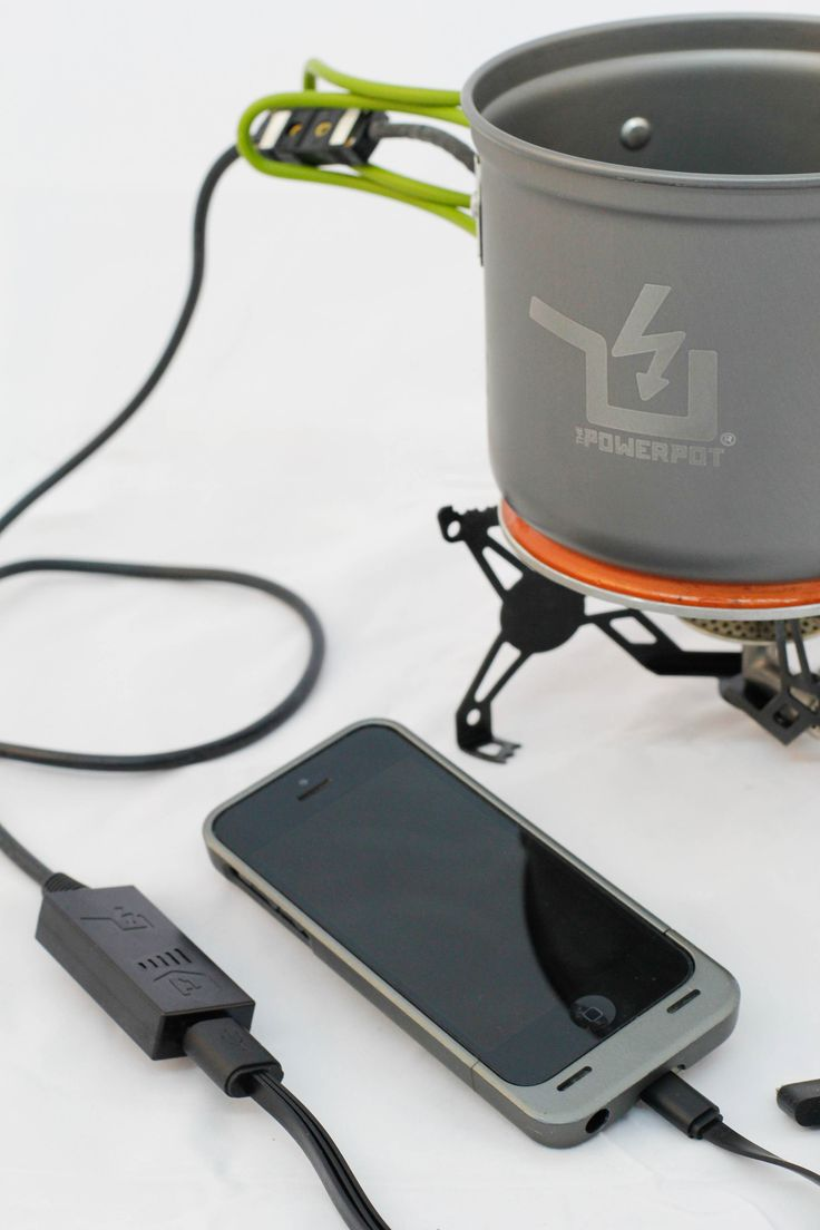 PowerPot 5 - Charge any product with heat!