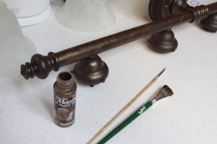 Refinishing brass bathroom fixtures
